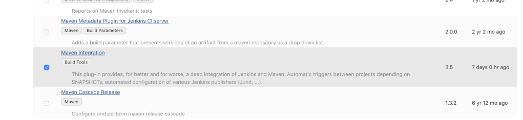 Maven Integration