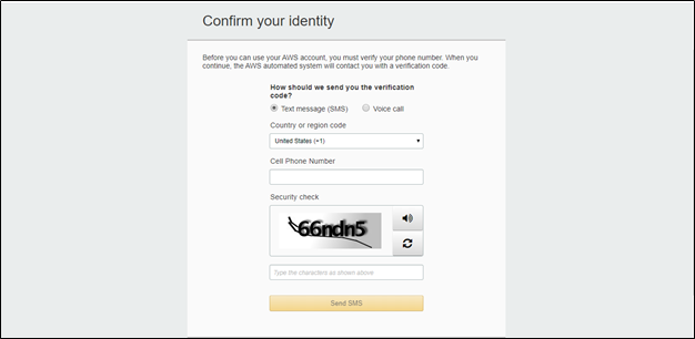 Confirm Your Identity